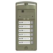 Блок вызова домофона BS-306-6