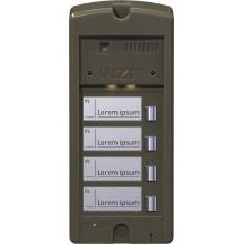 Блок вызова домофона БВД-306CP-4