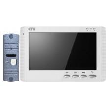 Комплект видеодомофона CTV-DP1700M (цвет белый)