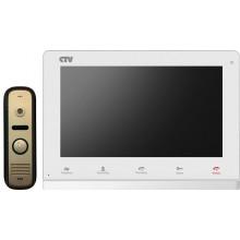 Комплект видеодомофона CTV-DP2100 WG (белый)