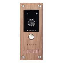 Видеопанель вызывная цветная AVP-281 (PAL) Wood Canaletto