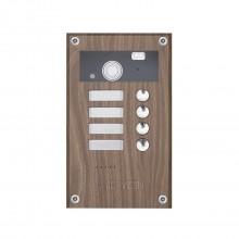 Видеопанель вызывная цветная AVP-284 (PAL) Wood Canaletto