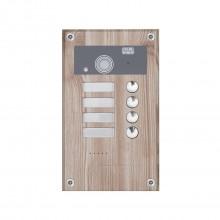 Видеопанель вызывная цветная AVP-284 (PAL) Wood Rovere