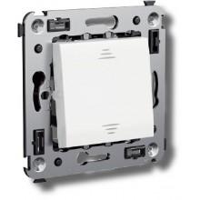 Выключатель Выключатель одноклавишный в стену Avanti белое облако (4400103)