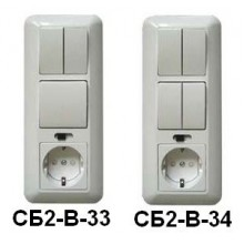 Исполнительный блок СБ2-B-33 (34)