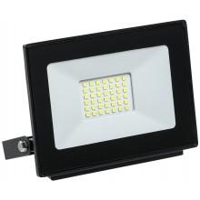 Прожектор светодиодный СДО 06-30 черный IP65 4000 K (LPDO601-30-40-K02)