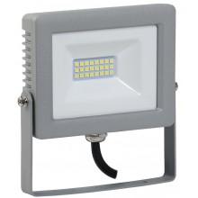 Прожектор светодиодный СДО 07-20 серый IP65 (LPDO701-20-K03)