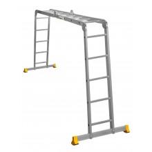 Лестница Лестница алюминиевая шарнирная (T445)