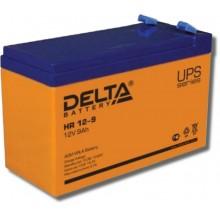 Аккумулятор герметичный свинцово-кислотный Delta HR 12-9