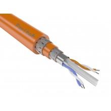 Кабели для промышленного интерфейса RS-485 одиночной прокладки КИС-ПКШпнг(А)-HF 2х2х0,78мм