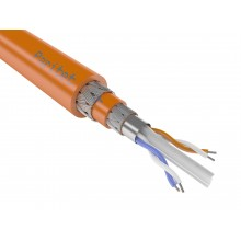 Кабели для промышленного интерфейса RS-485 одиночной прокладки КИС-ПКШпнг(А)-HF 4х2х0,6мм