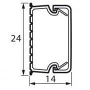 Короб Мини-канал 24x14 мм METRA (638193)