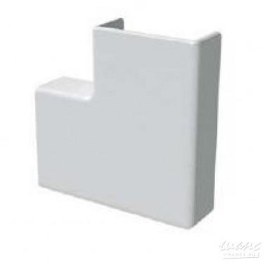 Коробка распаечная Угол 40х40мм плоский (72309)
