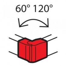 Угол внешний Внешний угол 130х50 METRA (638042)