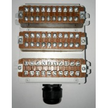 Бокс кабельный телефонный БКТ 30х2 (металл)