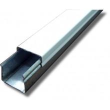 Кабельный канал металлический оцинкованный  ККМО 25х20