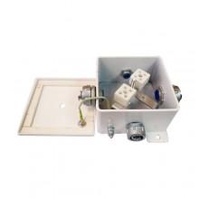 Коробка монтажная огнестойкая КМ-О (10к)-IP66-120х120, три ввода
