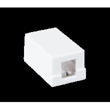 Корпус настенной розетки EC-UWO-1KJ-WT-10 (10шт)