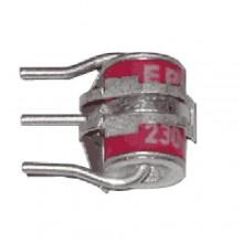 Разрядник 3-полюсный, с термозащитной пружиной, металлокерамический Разрядник 8х13 (6717 3 513-00)