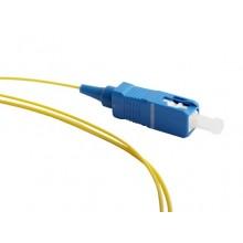 Пигтейл волоконно-оптический MM 50/125 (OM2), 1 м, LSZH FPT-B9-50-SC/PR-1M-LSZH-OR (FPT9-50-SC-PC-1M)
