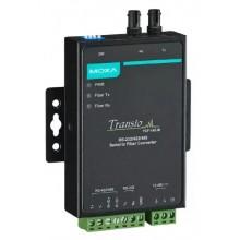 Преобразователь RS-232/422/485 в многомодовое оптоволокно TCF-142-M-ST-T