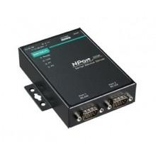 2-портовый асинхронный сервер RS-232 в Ethernet NPort 5210A