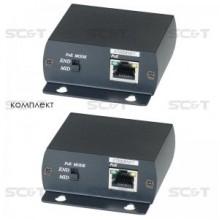 Удлинитель Ethernet с PoE IP01P