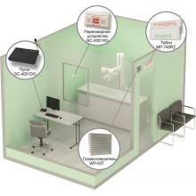 Комплект светового, звукового и голосового вызова посетителя в кабинет MP-912W2