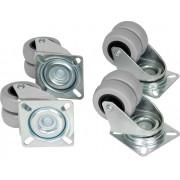 Ролики TLK поворотные для напольных шкафов TLK-CB4