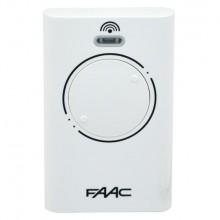 Брелок-передатчик радиоканальный FAAC 787009 XT2 868 SLH LR (белый)