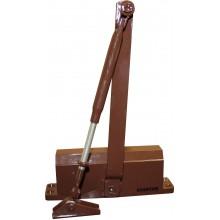 Доводчик для дверей весом до 85 кг. QM-D206EN4 (коричневый)