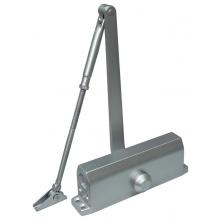 Доводчик для дверей весом до 45 кг, двухскоростной ST-DC001-SL (серебро)
