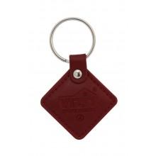 Брелок proximity кожаный VIZIT-RF2.2 red