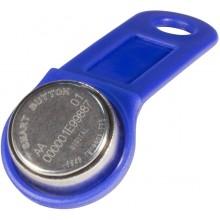 Ключ электронный Touch Memory с держателем DS 1990А-F5 (синий)