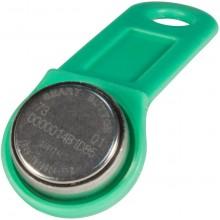 Ключ электронный Touch Memory с держателем DS 1990А-F5 (зеленый)