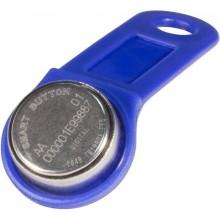 Ключ электронный Touch Memory с держателем RW 1990 SLINEX (синий)