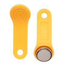 Ключ электронный Touch Memory с держателем RW 1990 SLINEX (желтый)