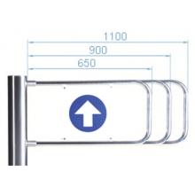 Створка для калитки PERCo-AG-1100