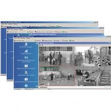 Комплект ПО «Контроль доступа с видеоидентификацией, ОПС, Видео, Дисциплина, Центральный пост» PERCo-SP17