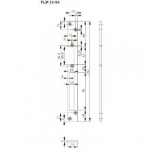 Запорная планка длинная FLM24-94