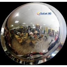 Зеркало купольное потолочное D=1000х360