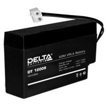 Аккумулятор герметичный свинцово-кислотный Delta DT 12008 (Т13)