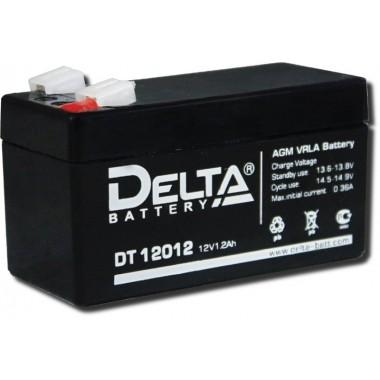 Аккумулятор герметичный свинцово-кислотный Delta DT 12012