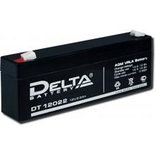 Аккумулятор герметичный свинцово-кислотный Delta DT 12022