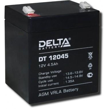 Аккумулятор герметичный свинцово-кислотный Delta DT 12045