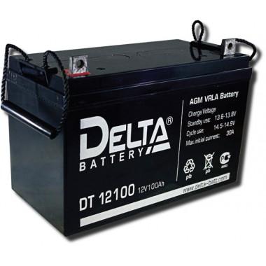 Аккумулятор герметичный свинцово-кислотный Delta DT 12100