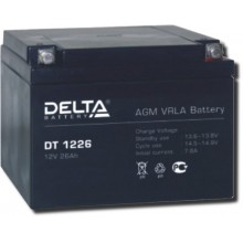 Аккумулятор герметичный свинцово-кислотный Delta DT 1226