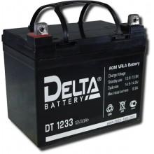 Аккумулятор герметичный свинцово-кислотный Delta DT 1233
