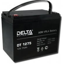 Аккумулятор герметичный свинцово-кислотный Delta DT 1275
