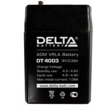 Аккумулятор герметичный свинцово-кислотный Delta DT 4003